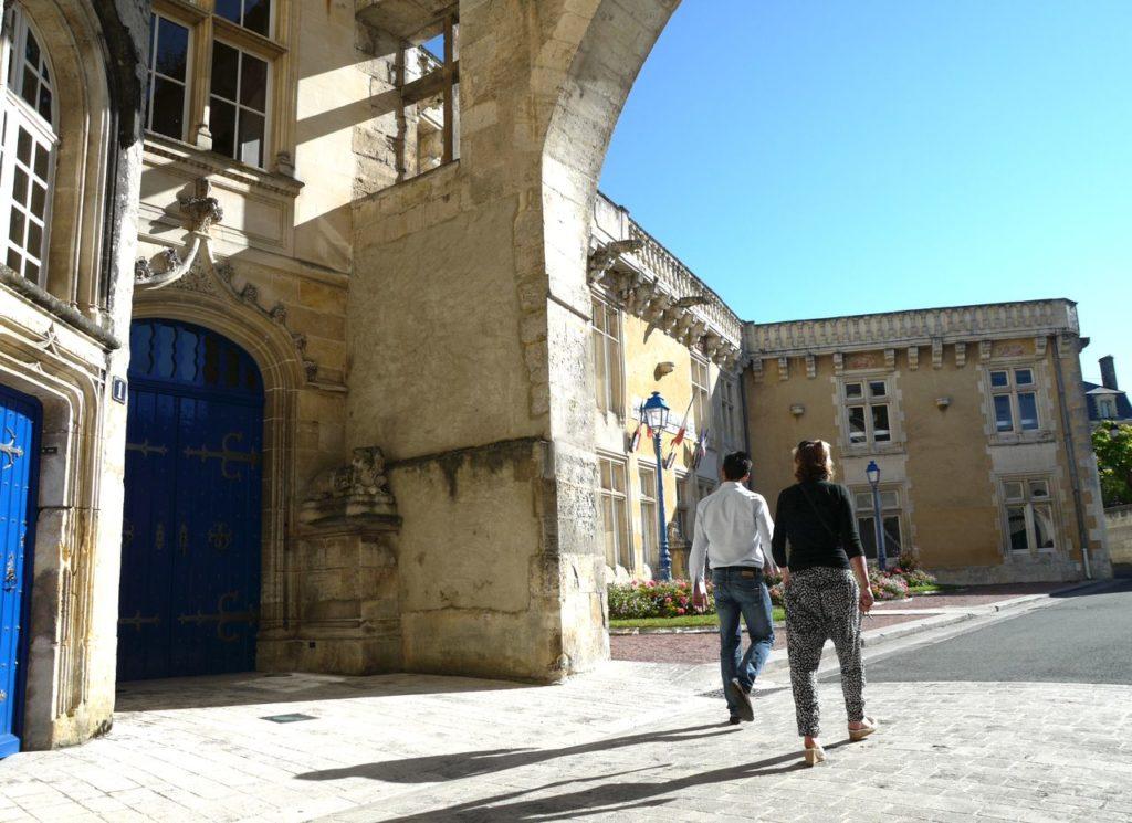 Visiter le château de Jonzac